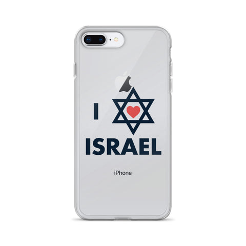 I Love Israel - iPhone Case