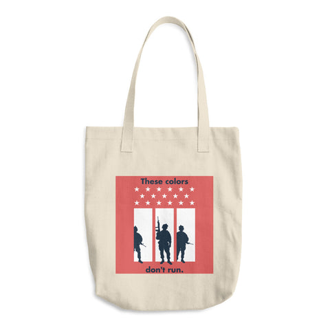 These Colors Don't Run - Cotton Tote Bag
