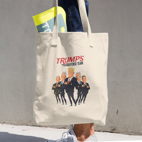 Trump's Defense Team Cotton Tote Bag