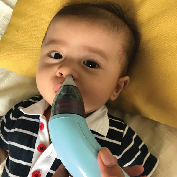 STUFFY NOSE NO MORE WITH JOYKIDS NASAL ASPIRATOR
