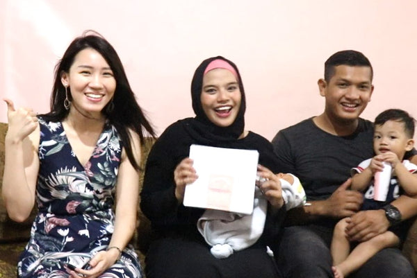 Hari Raya Special: Delivering Happiness to New Mummy