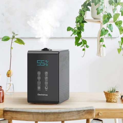 place a humidifier at home to ensure the enough moisture in the air