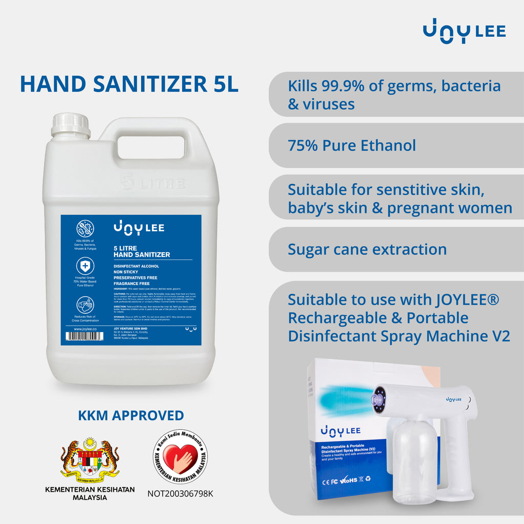 5l hand sanitizer is compatible with disinfectant spray machine