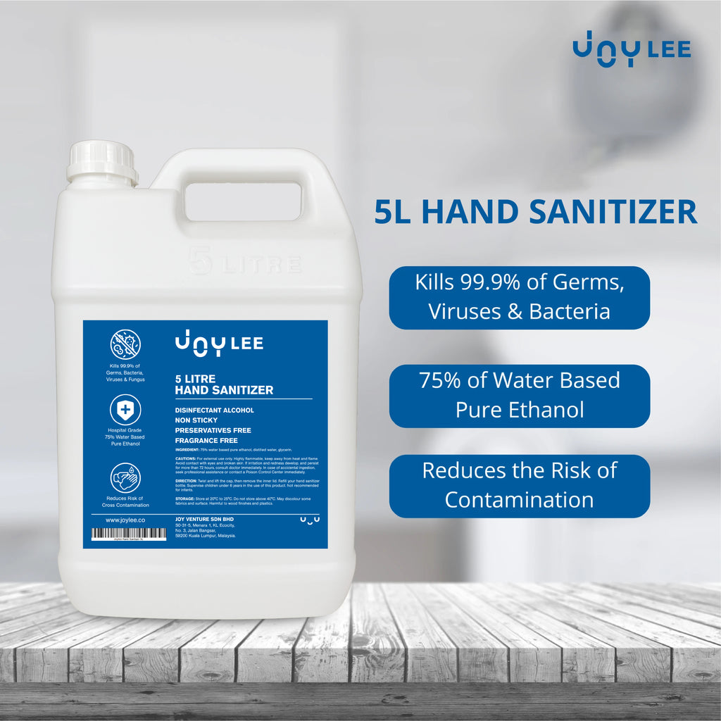 5l hand sanitizer kill 99.9% germs