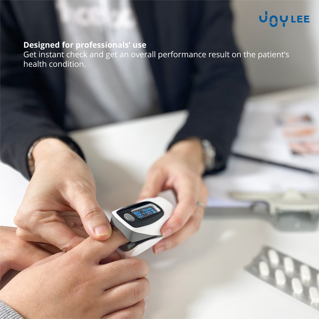 Pulse Oximeter is designed for professionals' use