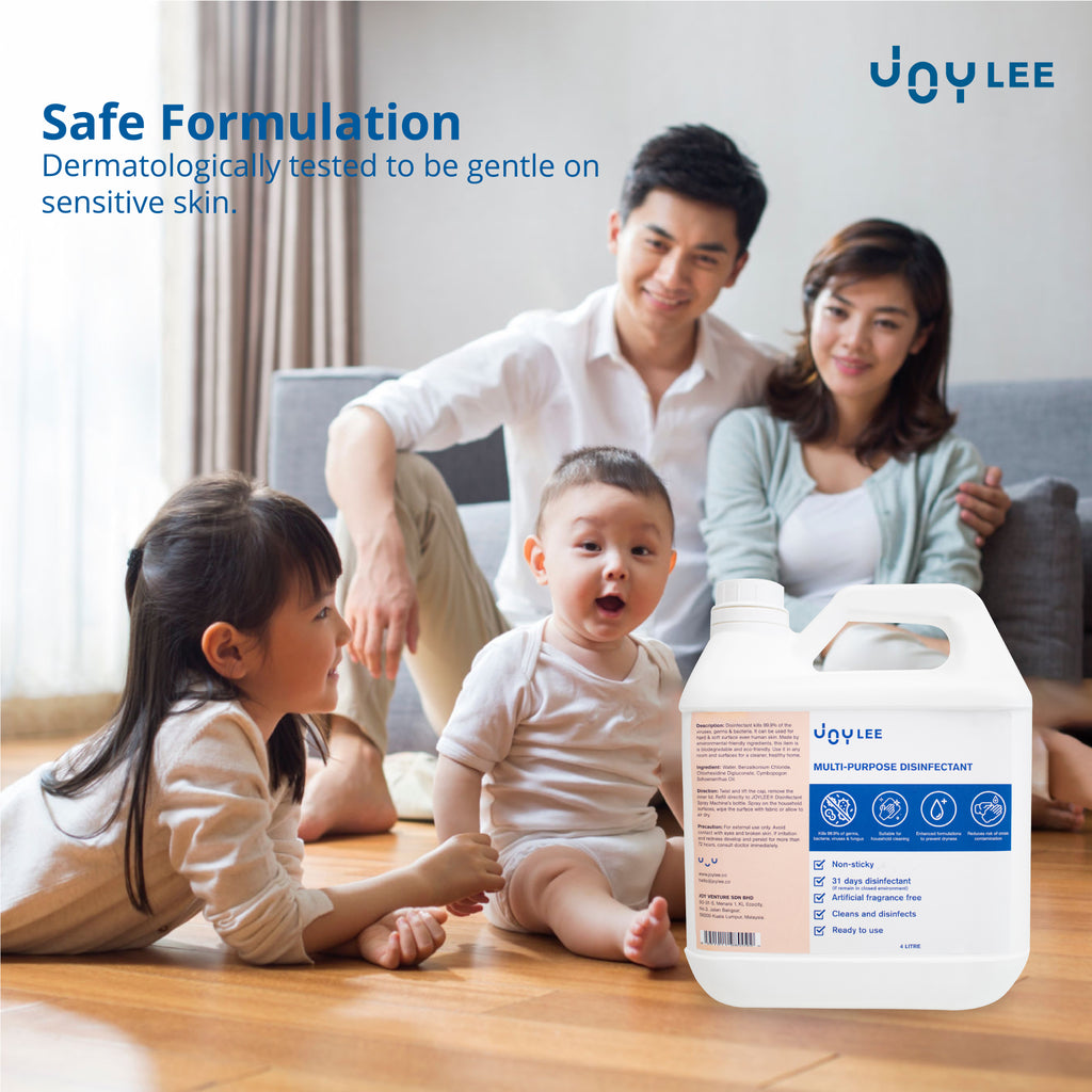 Multipurpose Disinfectant 4L suitable for family use