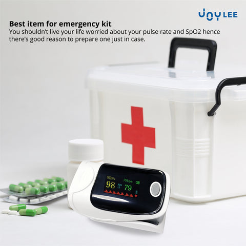 pulse oximeter is one of the best items for emergency kit