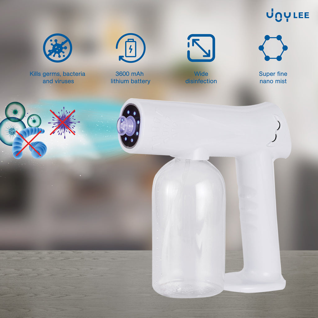 introducing upgraded version of disinfectant spray machine