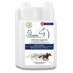 1L, Ahiflower Equine Oil