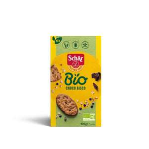 Galletas Choco Bisco Sin Gluten Bio 105g - Delicatessin