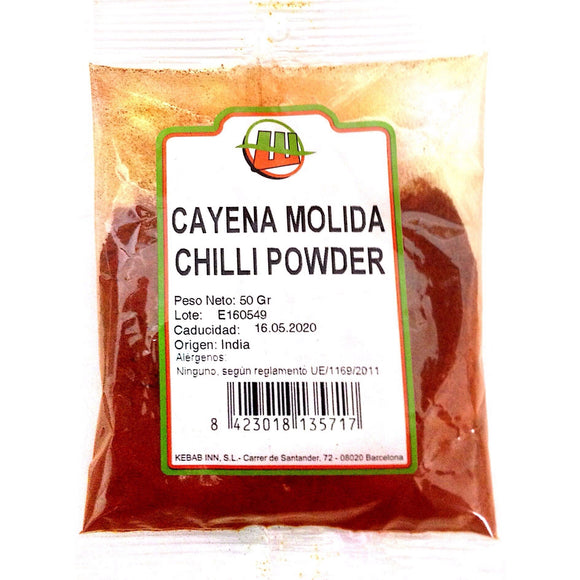 Cayena Molida (Chilli Powder) Wahid 100g