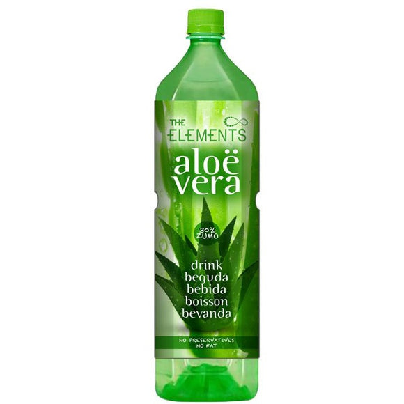 Bebida de Aloe Vera (Sin Azúcar) The Elements 1,5L