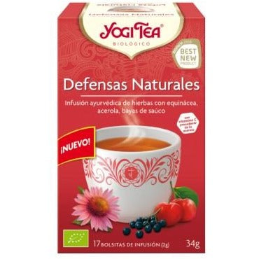 Infusión Defensas Naturales Bio Yogi Tea 34g (17tb)