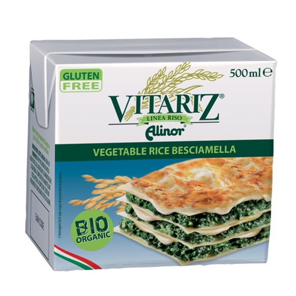 Bechamel de Arroz Bio 500ml - Delicatessin