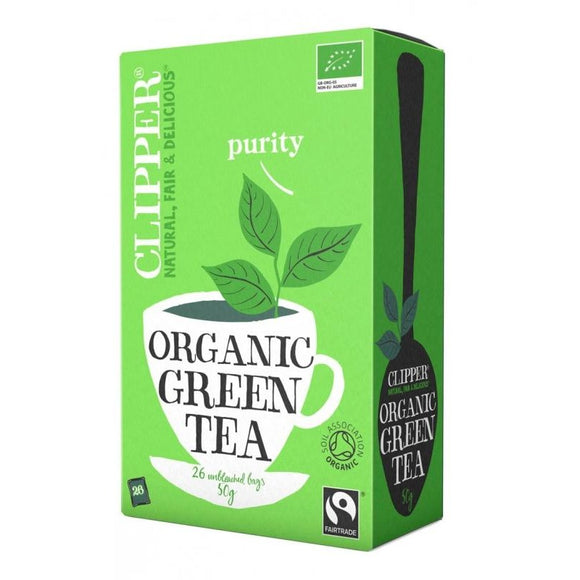 Té Verde Desteinado Bio Fairtrade 40g (20tb)