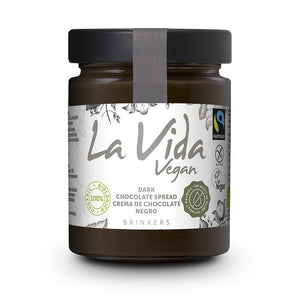 Crema de Chocolate Negro Bio Fairtrade 270g - Delicatessin