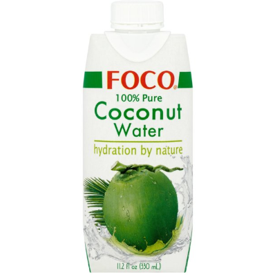Agua de Coco 100% Pura 330ml - Delicatessin
