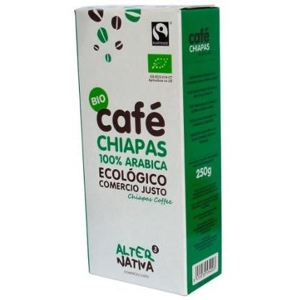 Café Chiapas Molido Ecológico y Fairtrade Alternativa3 250g