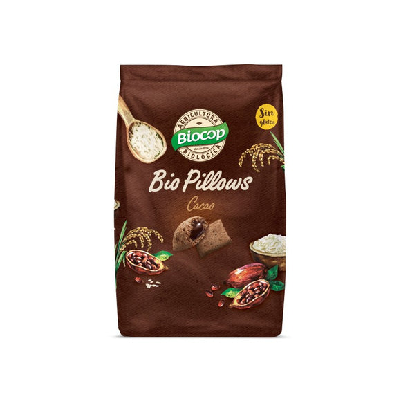 Biopillows Cacao Sin Gluten Bio 300g - Delicatessin