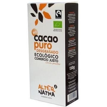 Cacao en Polvo Desgrasado Bio Fairtrade Alternativa3 150g