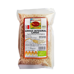 Arroz Largo Integral Bio 500g - Delicatessin
