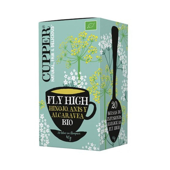 Infusión Fly High Bio 40g (20tb) - Delicatessin