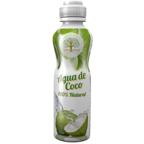 Agua de Coco Puro Tesoro Natural 500ml