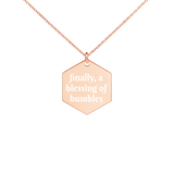 Honey Rose Gold Necklace