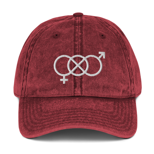 Gender Neutral Vintage Cotton Twill Cap