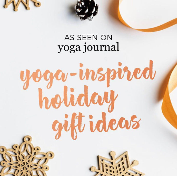 7 Yoga-Inspired Holiday Gift Ideas for the Yogis You Love