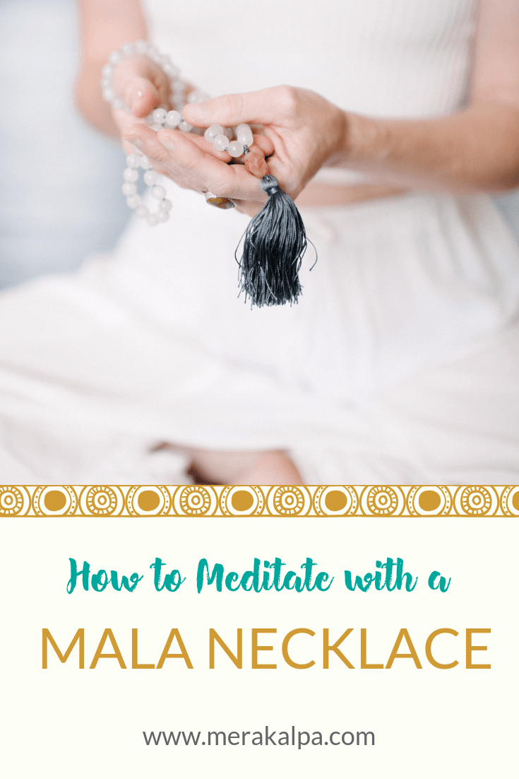 how to meditate with a mala