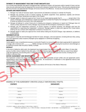 22 Property Management Agreement