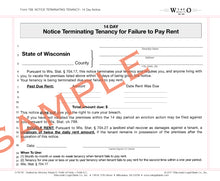 768 14-Day Notice Terminating Tenancy for Failure to Pay Rent