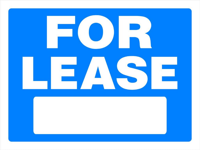 For Lease 18 x 24 PVC Sign