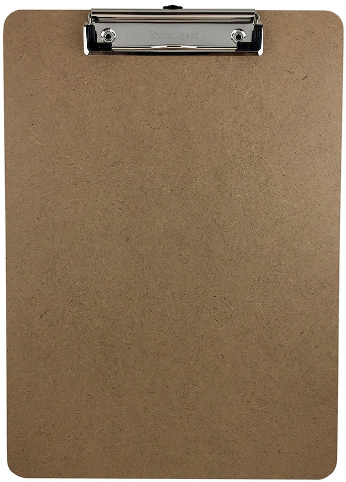Trade Quest Letter Size Clipboard Low Profile