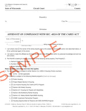 C-04 Affidavit of Compliance with Cares Act