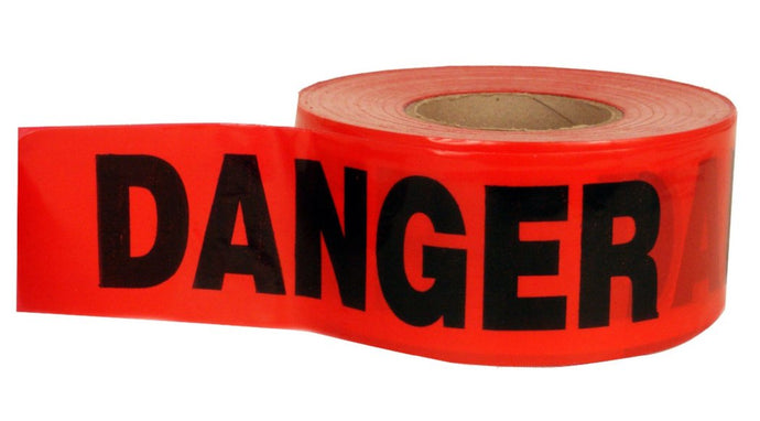 Danger Do Not Enter Red Tape Roll
