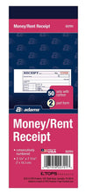 DC2701 Money & Rent Receipt Book
