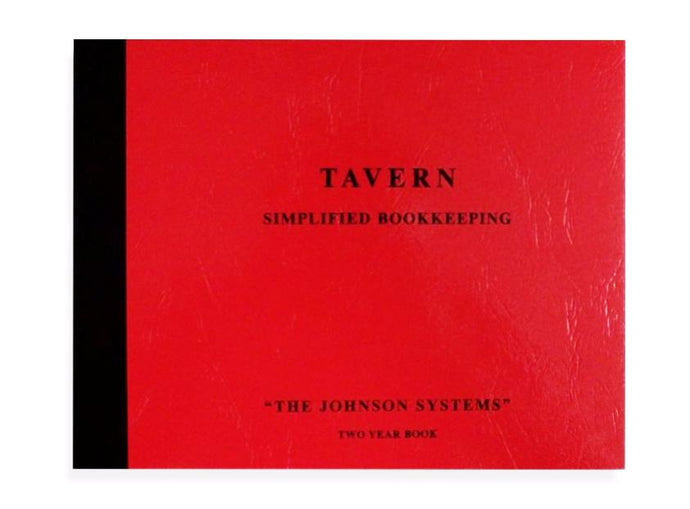 Tavern Journal Bookkeeping