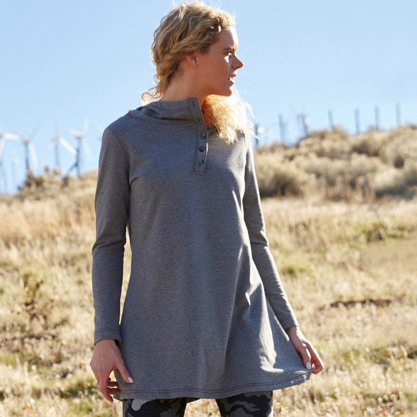 The Essential Cover Up: French Terry Tunic