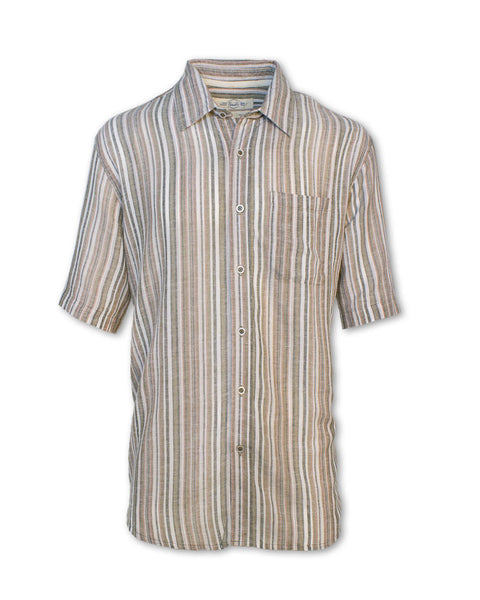 Striped Madras Shirt