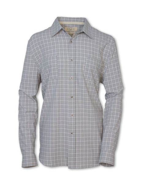 The Angler Shirt: LS Quick Dry Micro-Plaid
