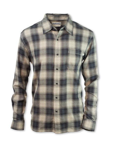 Vintage Plaid Button-Up