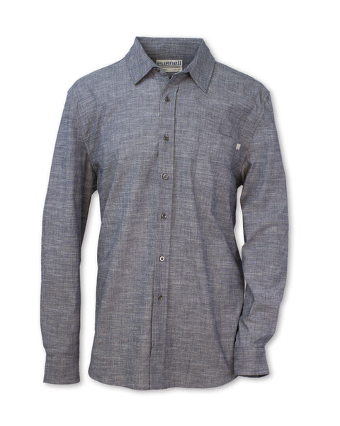 Classic Stretch Chambray Shirt