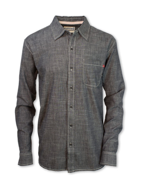 Black Chambray Shirt