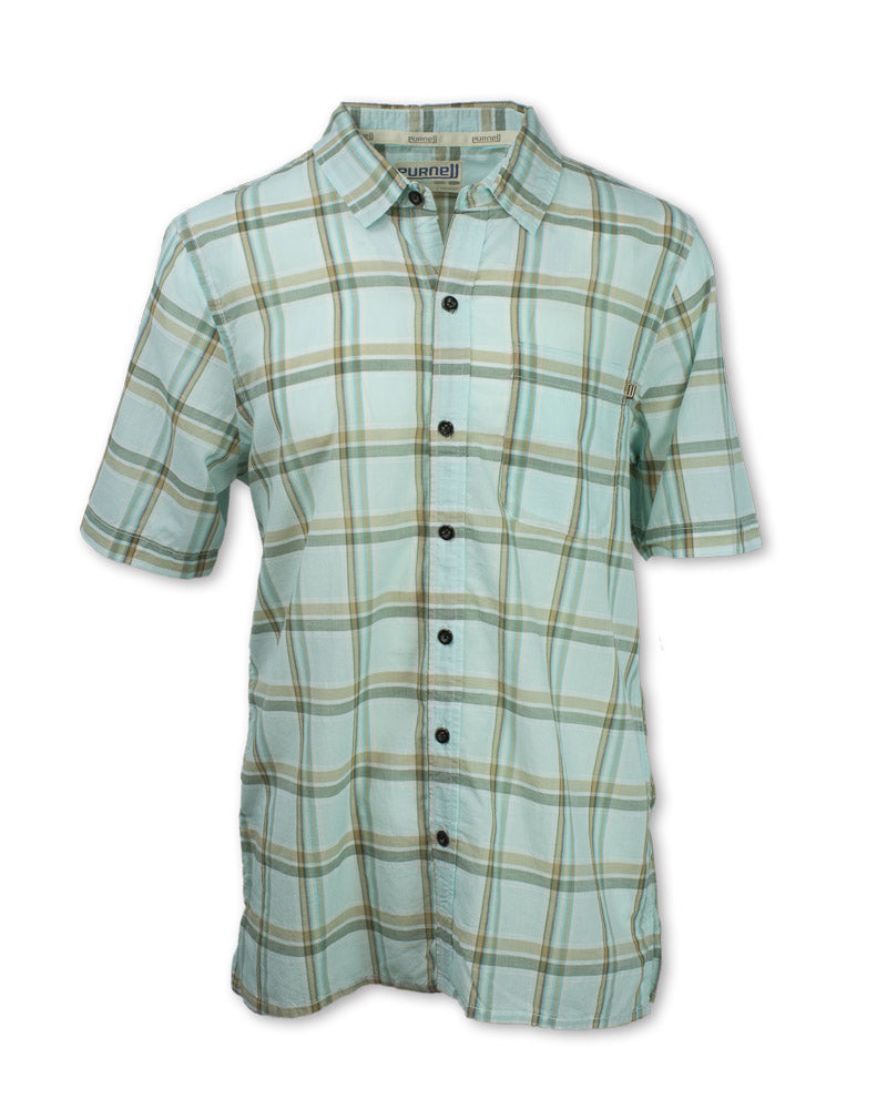 Light Green Madras Plaid
