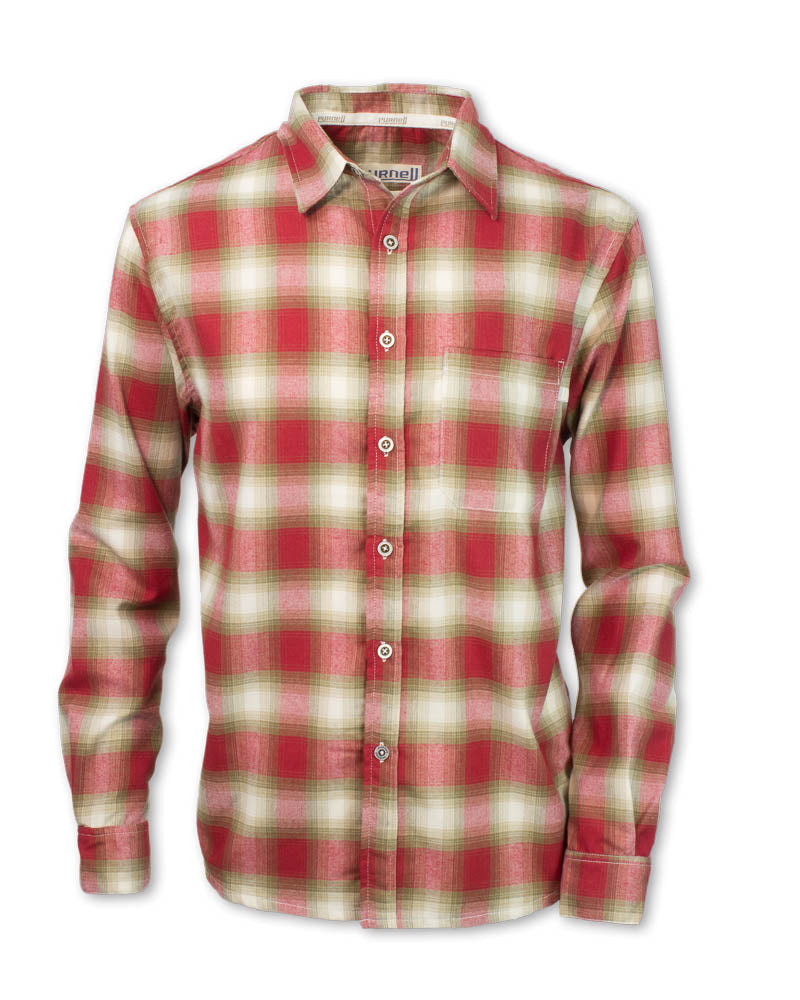 Red Performance Plaid Flannel