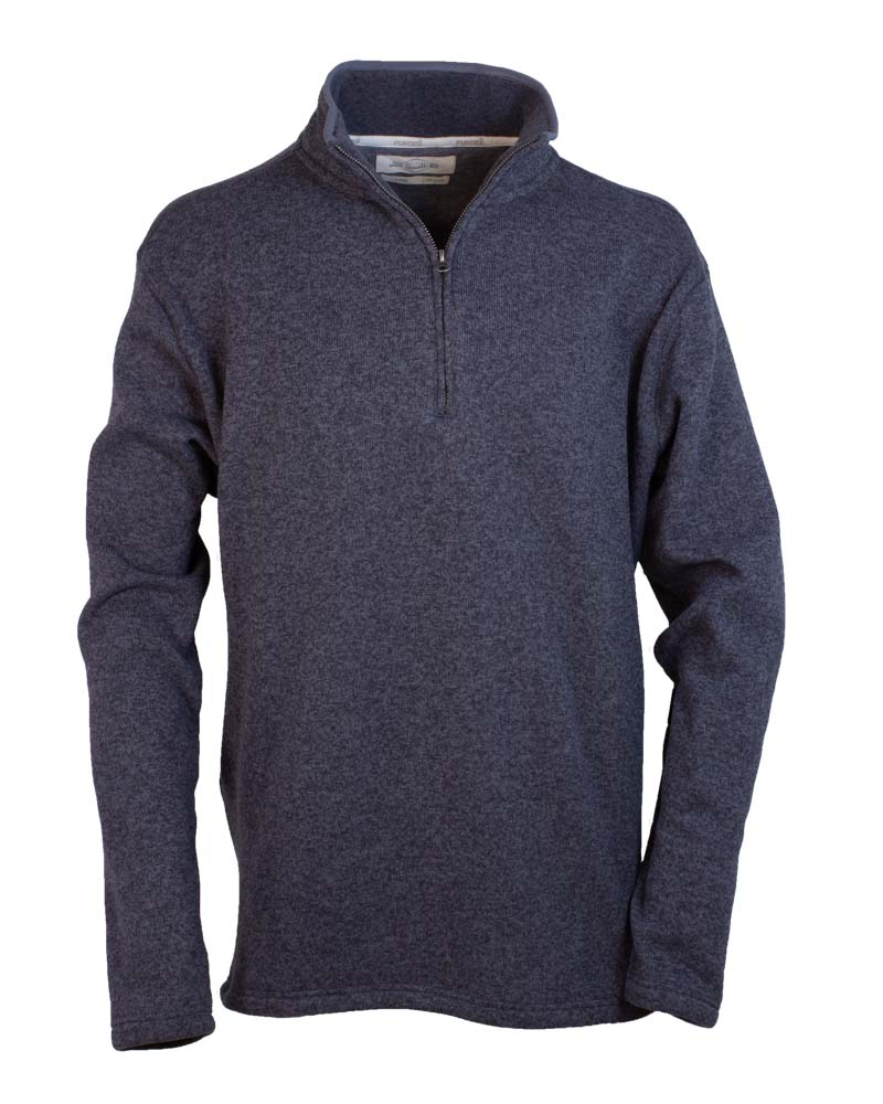 Half Zip Monarch Knit Pullover