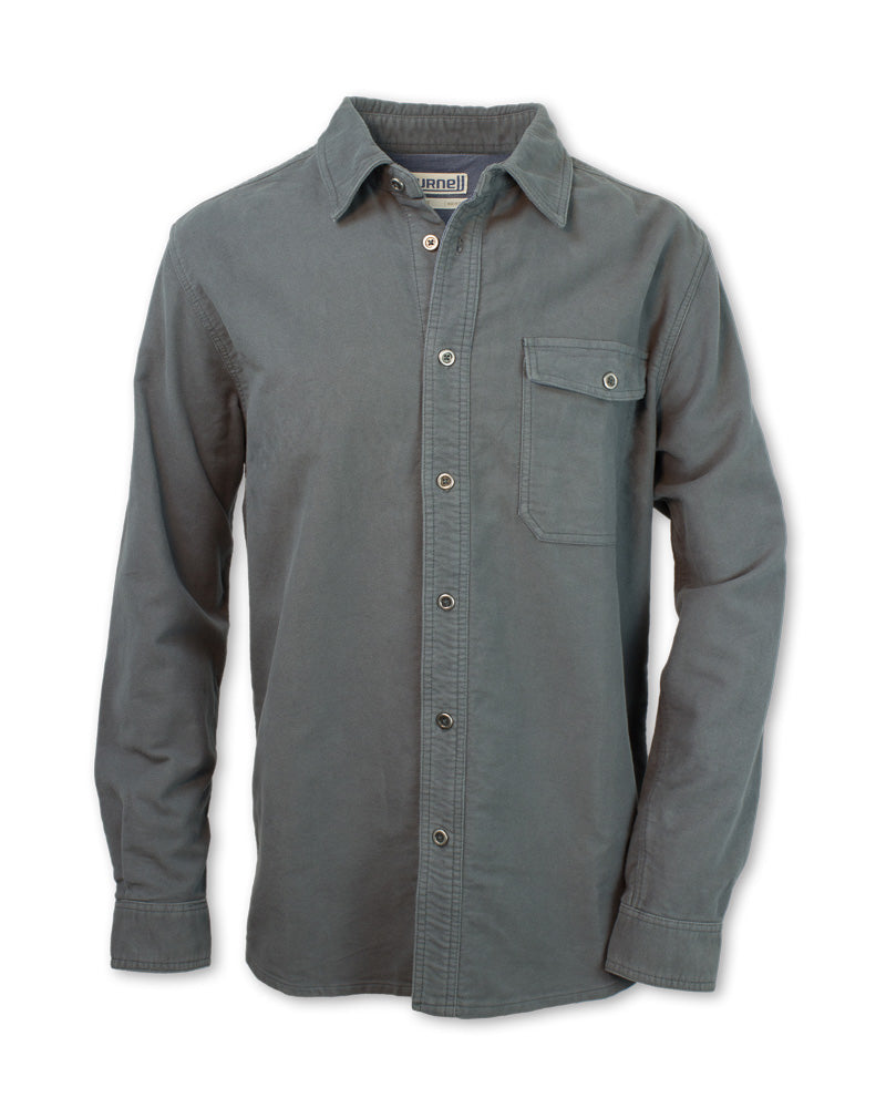 Heavyweight Moleskin Shirt