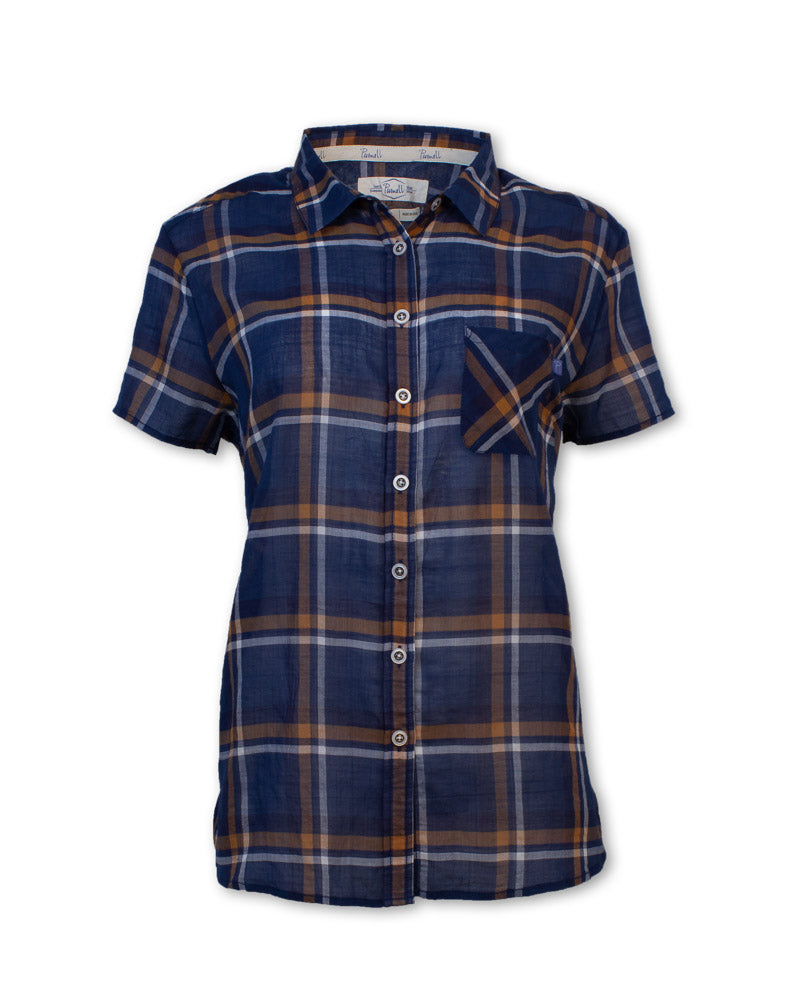 Short-Sleeved Madras Shirt